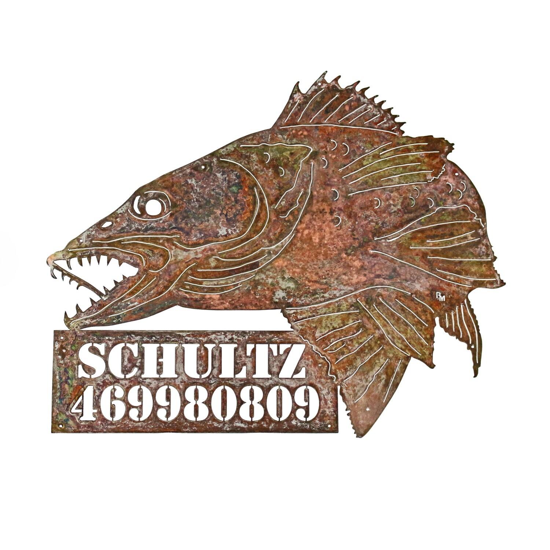 Custom Fish Sign