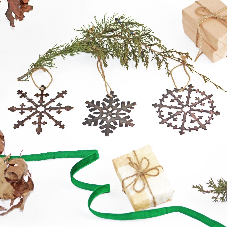 Snowflake Ornament Set