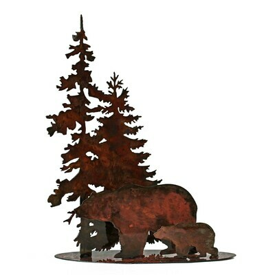 Bear & Cub Table Stand