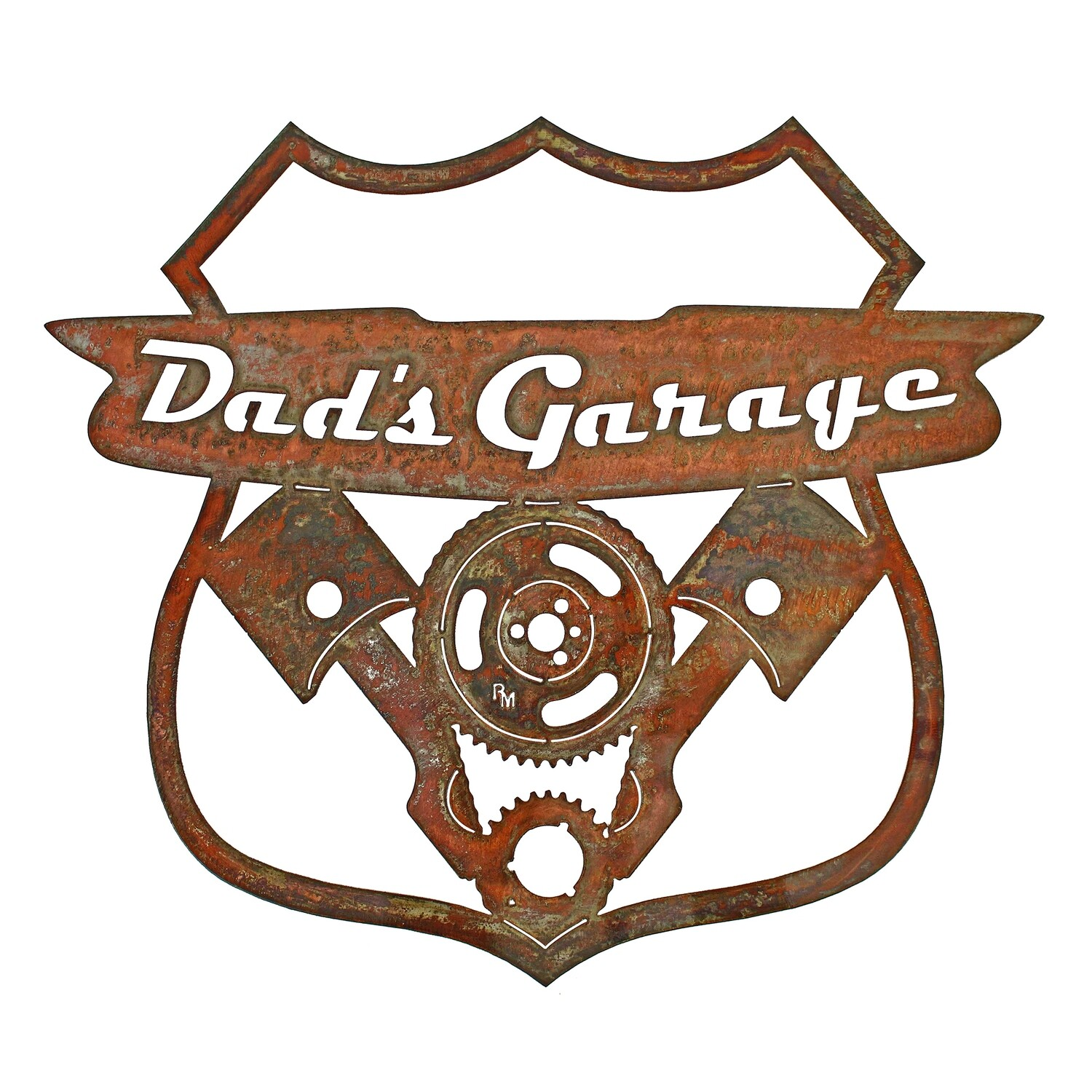 Motor Route Sign - Dad's Garage