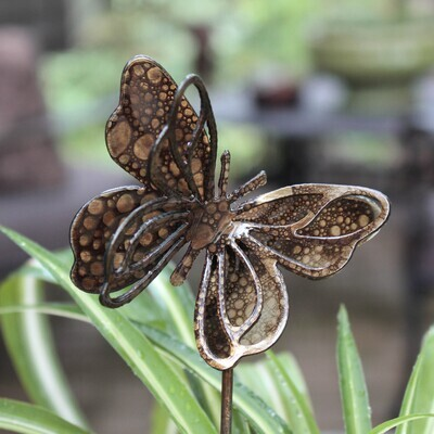 Small Spring Butterfly Stake