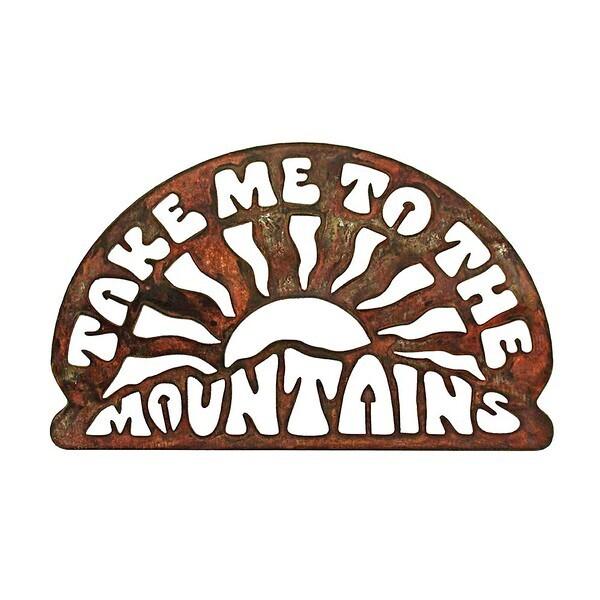 Take Me To The Mountains Magnet