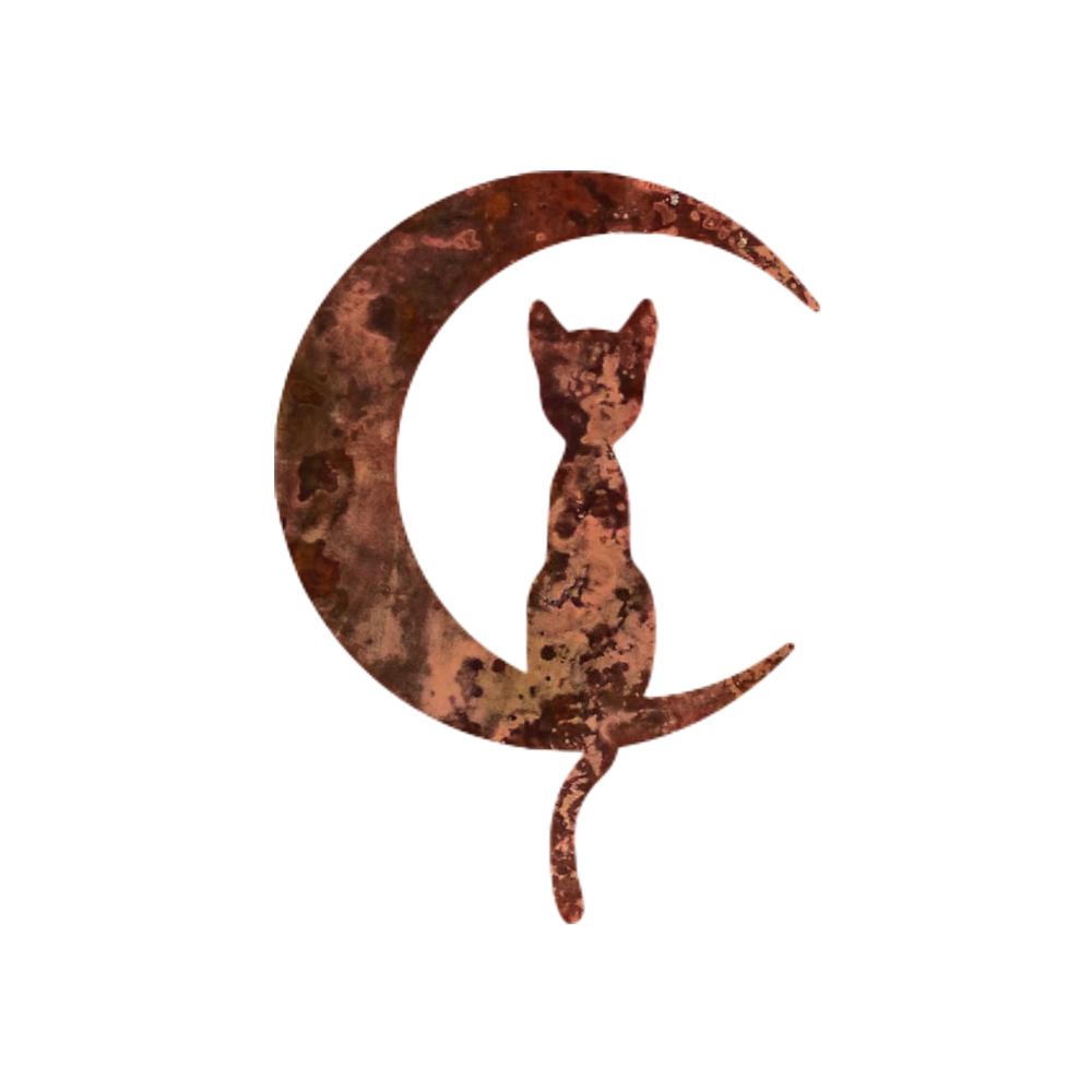 Cat Moon Magnet