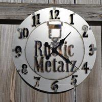 Custom Logo Clock