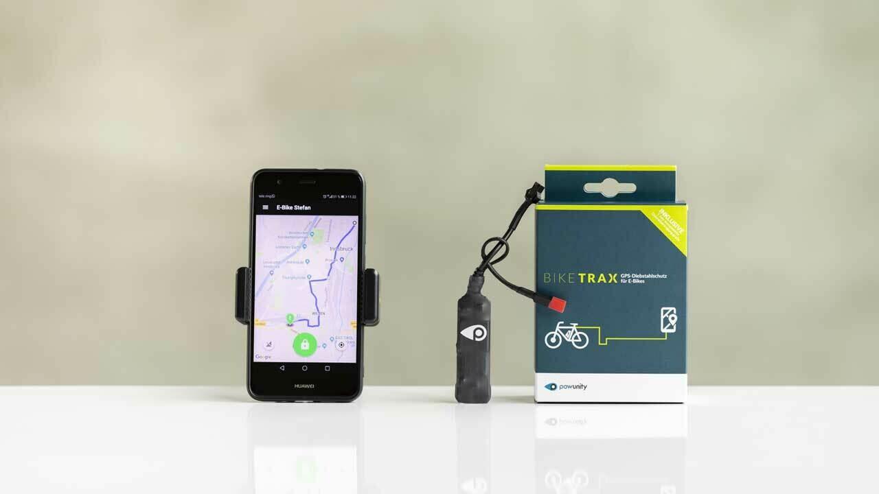 BikeTrax GPS-seurantalaite sähköpyörään