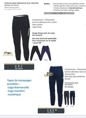 Bas de training Bleu Marin
