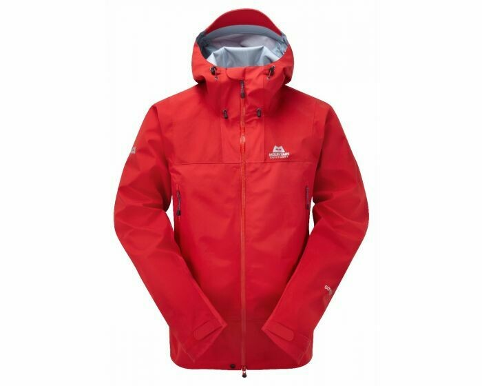 MOUNTAIN EQUIPMENT RUPAL GORETEX JACKET IMPERIAL RED LARGE