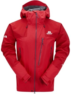 MOUNTAIN EQUIPMENT LHOTSE GORETEX JACKET IMPERIAL RED X-X-LARGE