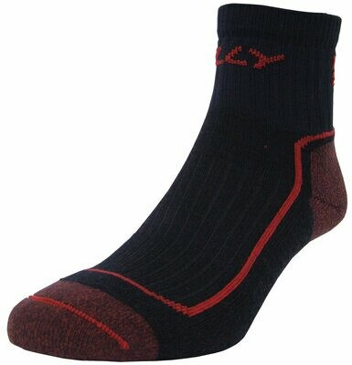 HILLY OFF ROAD ANKLET SOCKS NAVY/RED SMALL 3-5,5 COSMETIC SECONDS