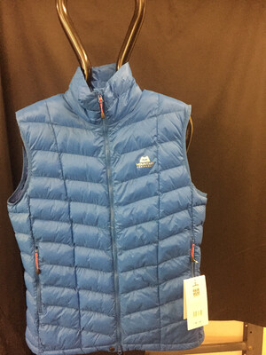 MOUNTAIN EQUIPMENT SUPERFLUX VEST AZURE LARGE