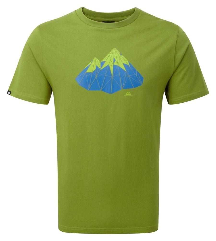 MOUNTAIN EQUIPMENT POLYGON TEE KIWI LARGE NEW