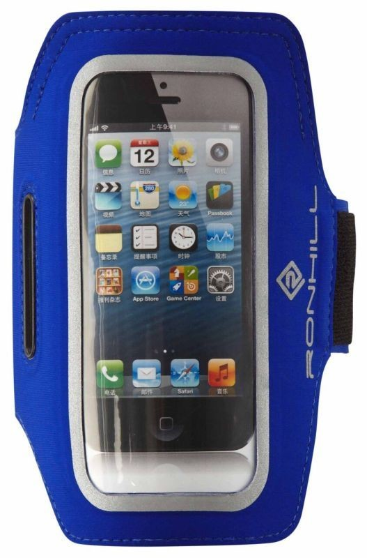 RON HILL PHONE RUNNING ARM BAND BLUE NEW