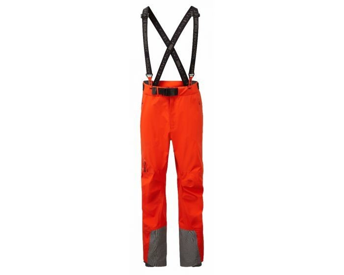 MOUNTAIN EQUIPMENT DIAMIR GORETEX PRO PANT CARDINAL ORANGE LARGE NEW