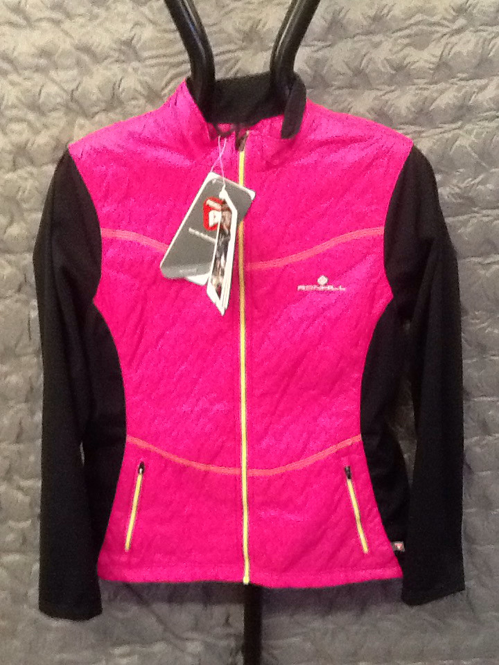 RONHILL WOMEN'S trail vertex jacket magenta 12