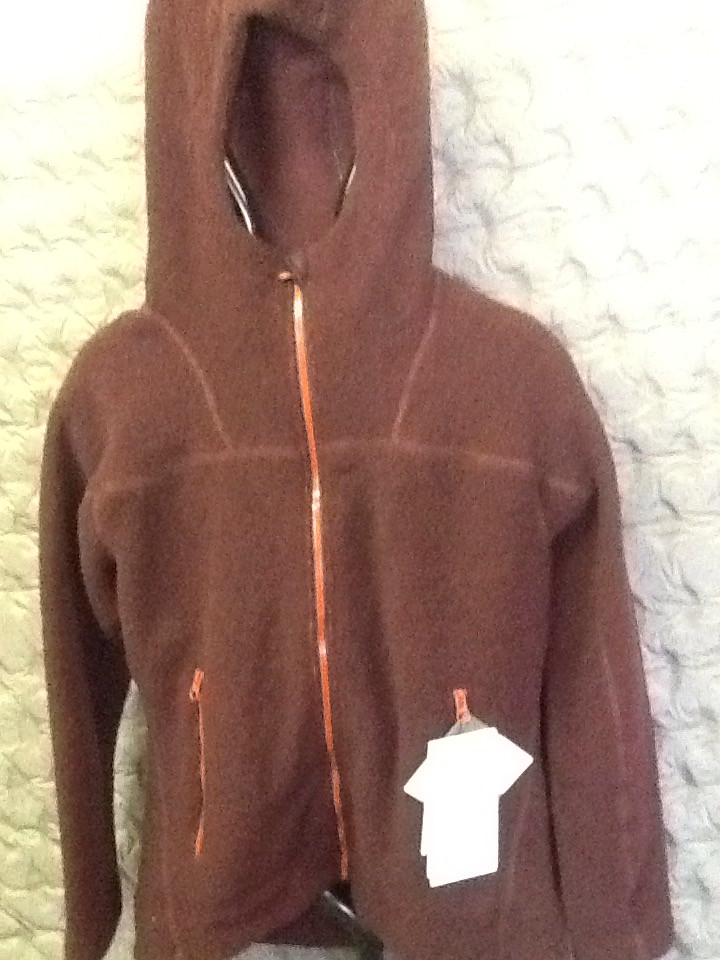 MOUNTAIN EQUIPMENT OATMEAL HOODED FLEECE JACKET DARK CHOCOLATE 12