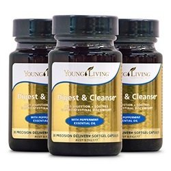 Digest + Cleanse capsules 3 pack [Retail]
