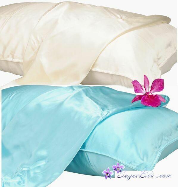 Jessicurl Australia Silk Pillowcase-Ivory