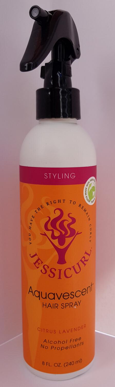Jessicurl Aquavescent Hair Spray 237ml (8oz) Citrus Lavender