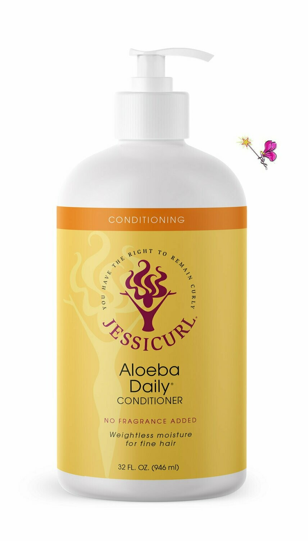 Jessicurl Aloeba Conditioner No Fragrance Added 946ml (32oz)
