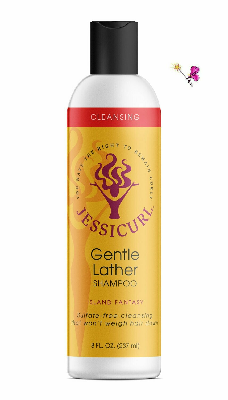 Jessicurl Gentle Lather Shampoo Island Fantasy 237ml (8oz)