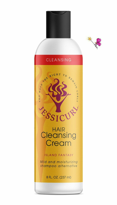 Jessicurl Hair Cleansing Cream Island Fantasy 237ml (8oz)