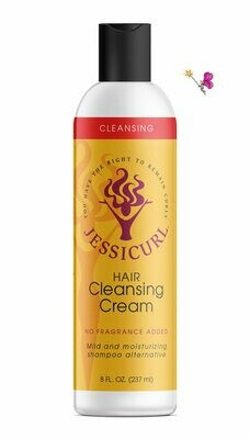 Jessicurl Hair Cleansing Cream No Fragrance Added 237ml (8oz)