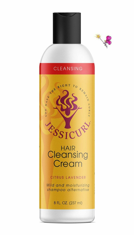 Jessicurl Hair Cleansing Cream Citrus Lavender 237ml (8oz)