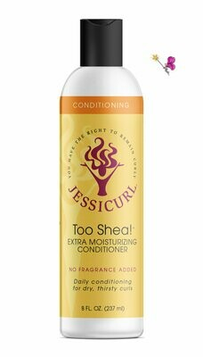 Jessicurl Too Shea! Conditioner No Fragrance Added 237ml (8oz)