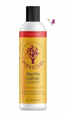 Jessicurl Gentle Lather Shampoo No Fragrance Added  237ml (8oz)