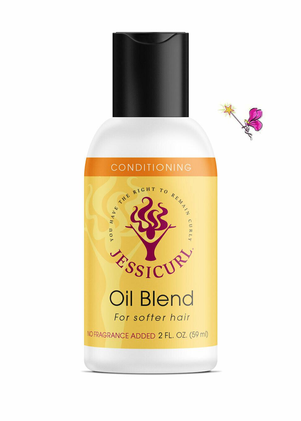 Jessicurl Oil Blend No Fragrance Added  59ml (2oz)