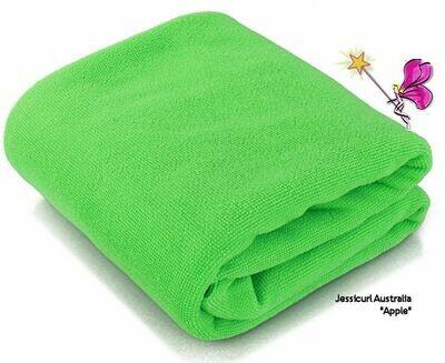 Jessicurl Australia Microfibre Plunking Towel - Green Apple