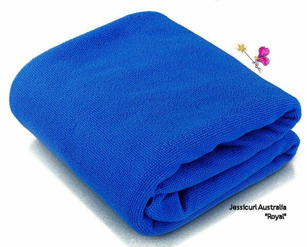 Jessicurl Australia Microfibre Plunking Towel - Sapphire