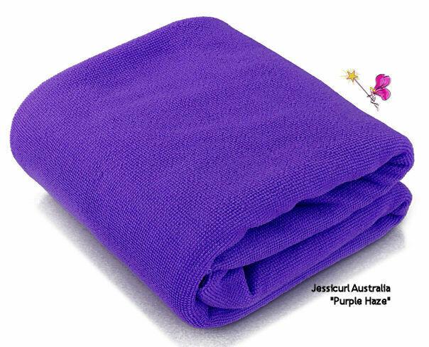 Jessicurl Australia Microfibre Plunking Towel -Royal Purple