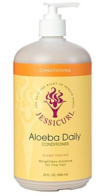 Jessicurl Aloeba Conditioner No Fragrance Added 946ml (32oz)
