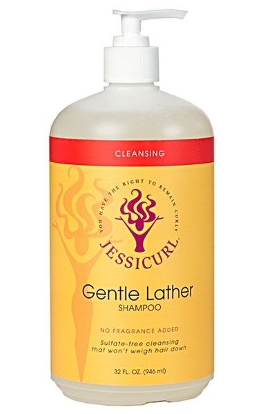 Jessicurl Gentle Lather Shampoo No Fragrance Added 946ml (32oz)