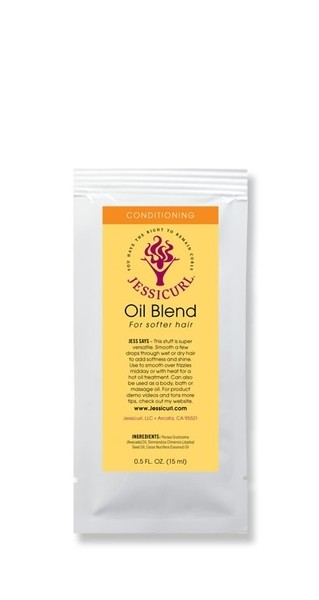 Jessicurl Sample Oil Blend 15ml (0.5oz)