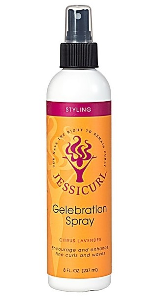 Jessicurl Gelebration Spray No Fragrance Added 237ml (8oz)