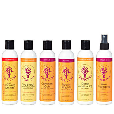 Jessicurl Rich & Radiant Collection Citrus Lavender  237ml (8oz)