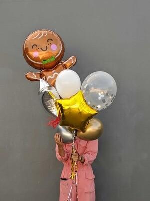 Christmas Bundle - Gingerbread Man   Colour & Size Options