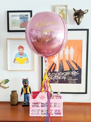 Gin & Chill Gift Pack + Personalised Balloon
