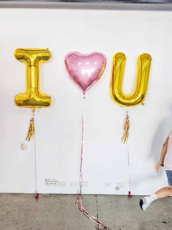 I ❤️ U Letters