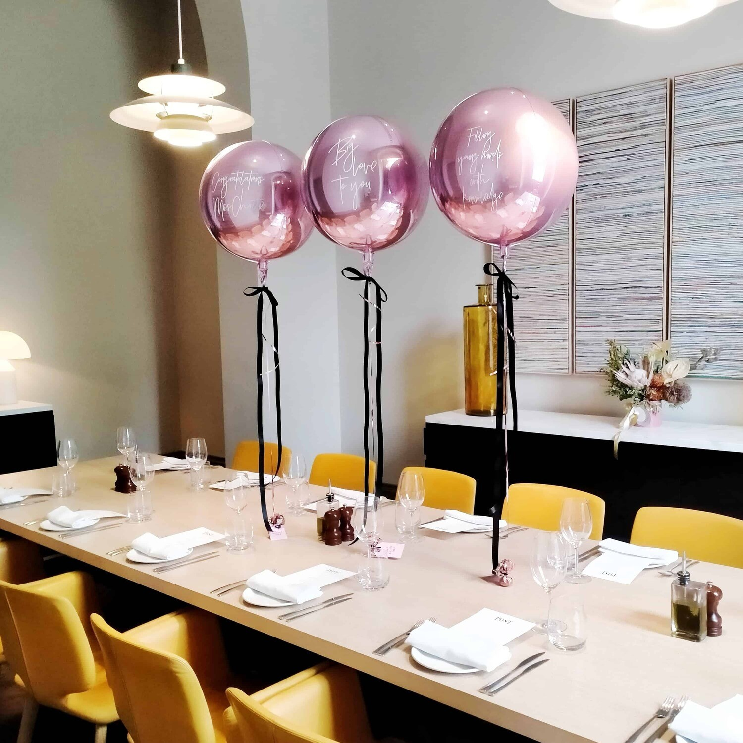 3 Orb - Table Setting