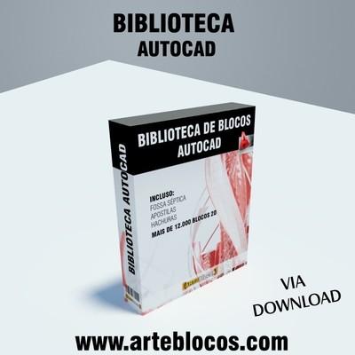 Biblioteca de blocos para Autocad