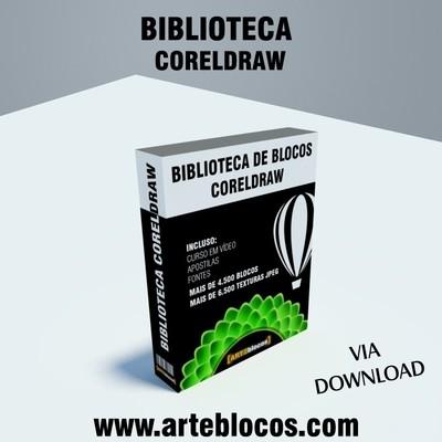 Biblioteca de blocos para Coreldraw