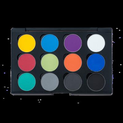 Vibrant Eyebrow Palette