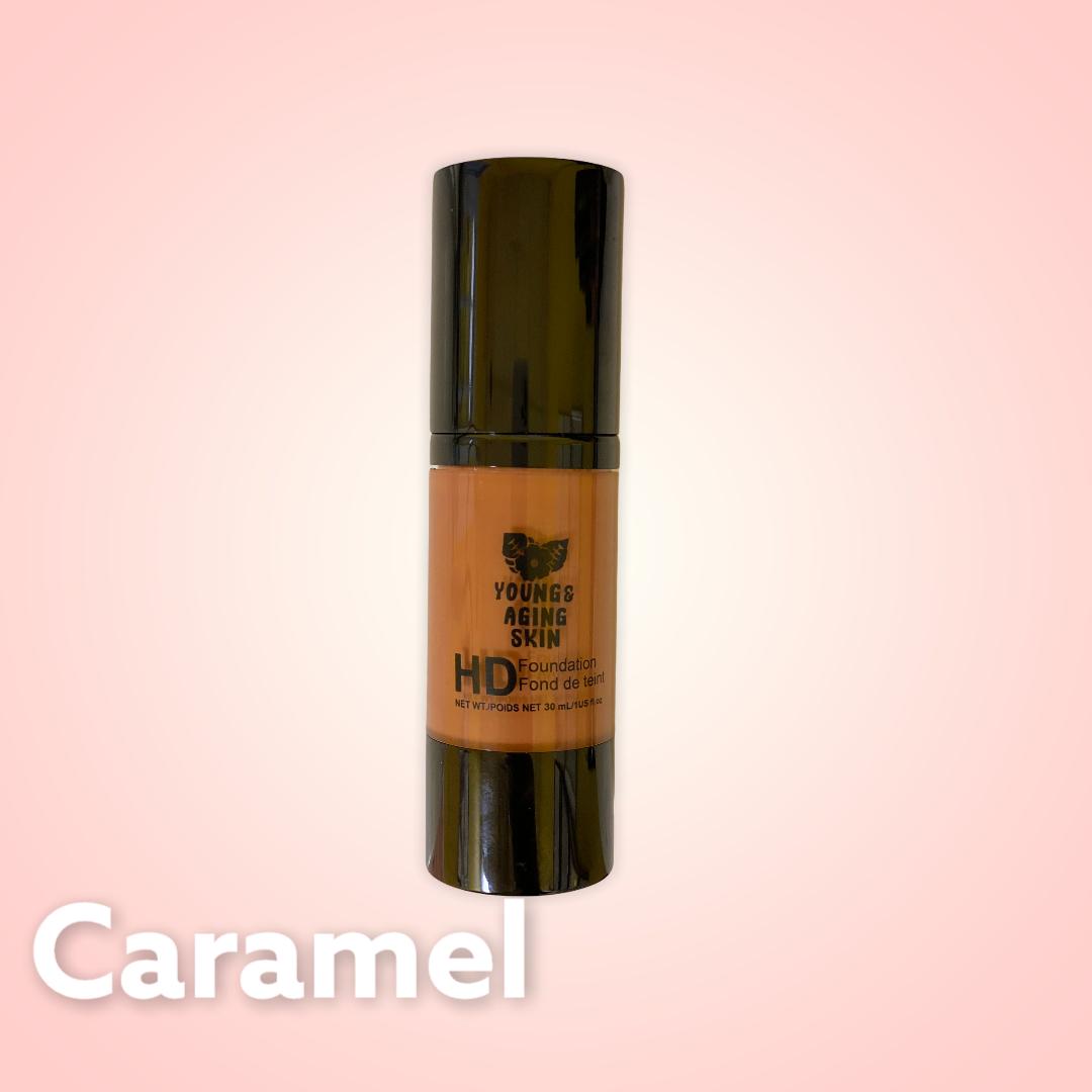High Definition Foundation In Caramel