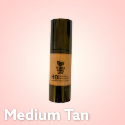 High Definition Foundation In Medium Tan