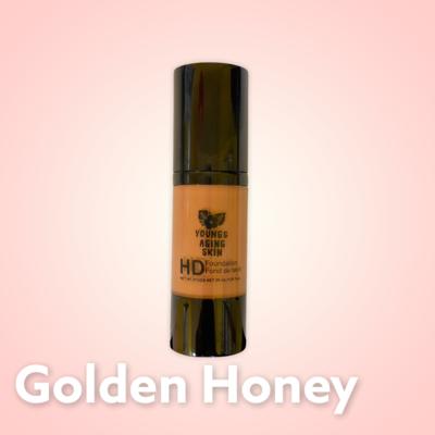 High Definition Foundation In Golden Honey
