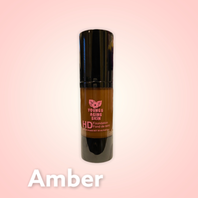 High Definition Foundation In Amber