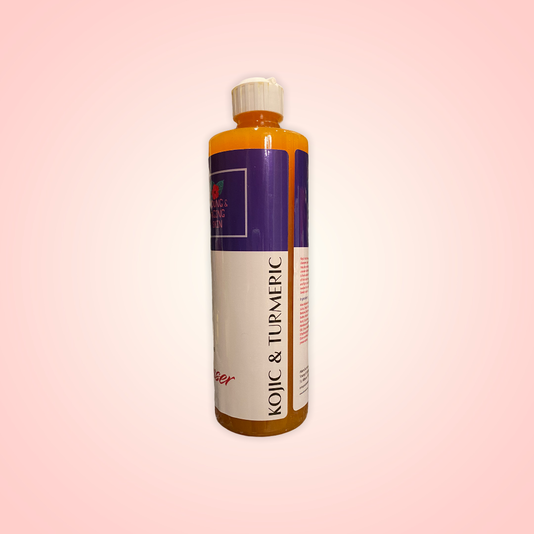 CLEANSING GEL with KOJIC ACID & Extra TURMERIC